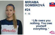 Miriama Gombíková