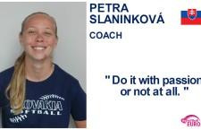 Petra Slaninková, coach