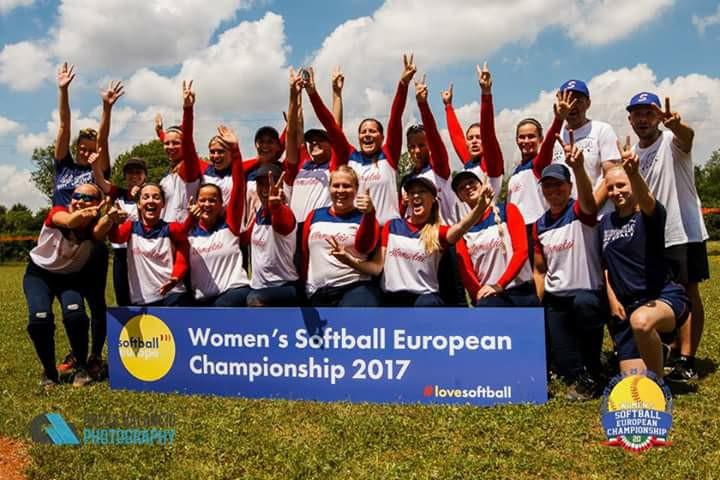 ME v softballe žien – Bollate 2017