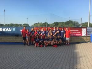 softball kadetky ME 2017_Ostrava